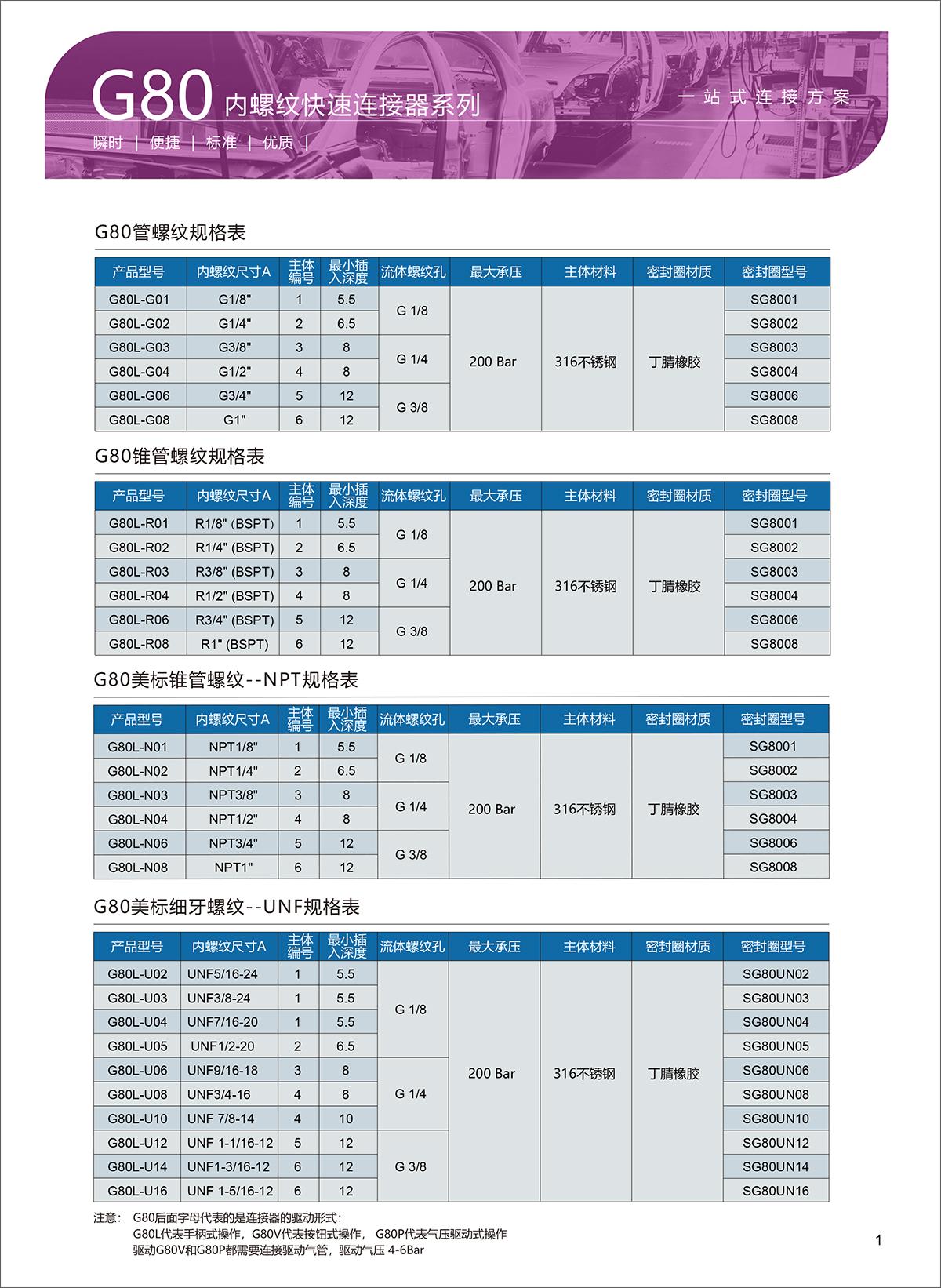 G80选型表-1