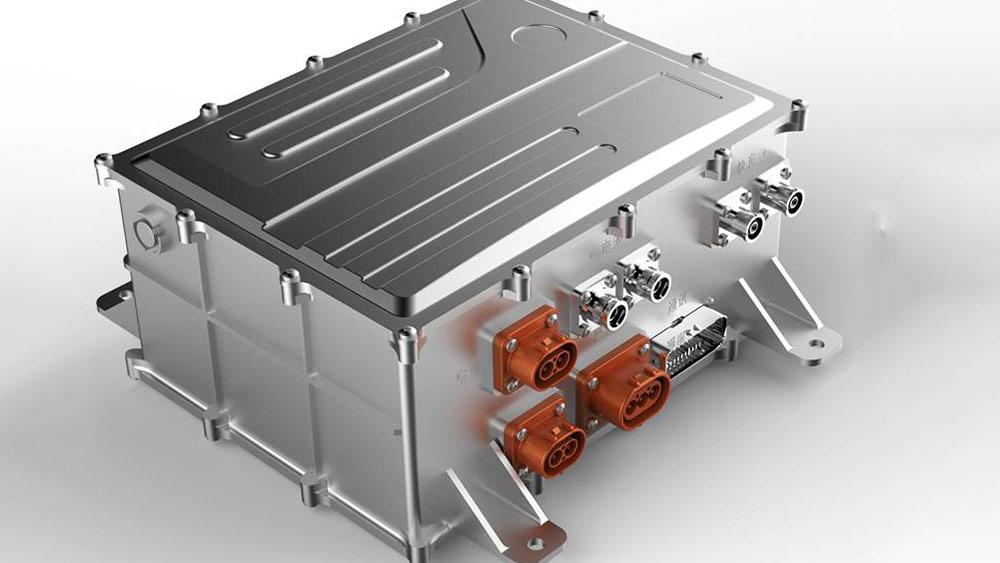 电机控制器壳体气密检测快速密封接头应用案例