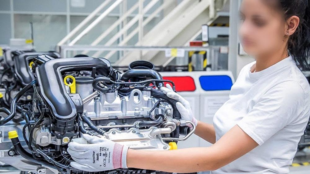 发动机总成装配测试快速密封接头应用案例