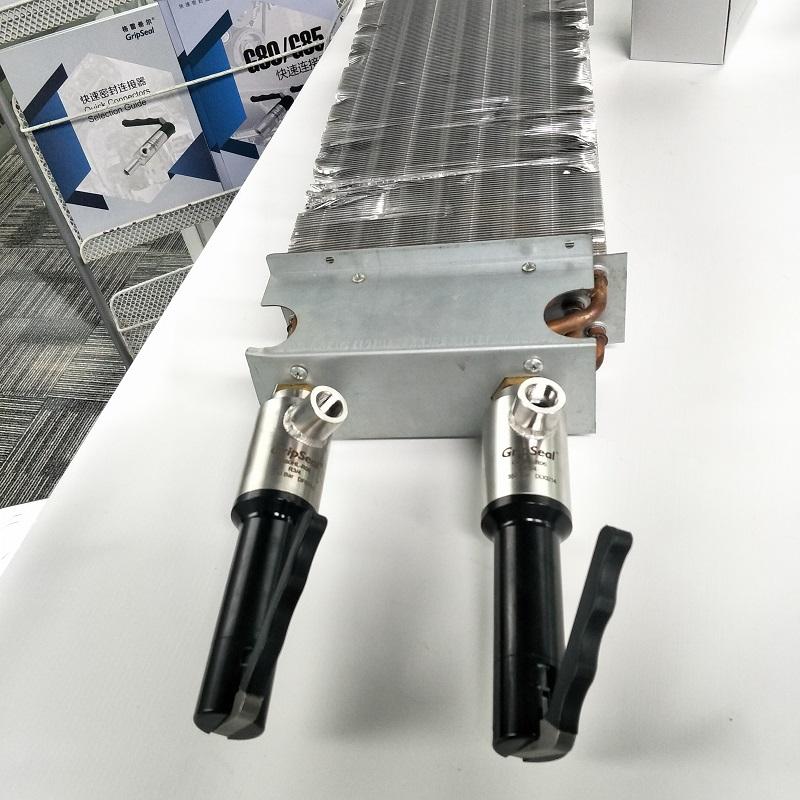 G85快速接头在风机盘管中的应用