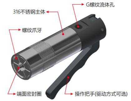 G85系列高压外螺纹密封连接器